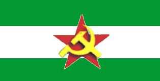 Resultado de imagen de Bandera de Andalucia.