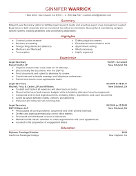 Scannable Resume Example] Scannable Resume Samples .