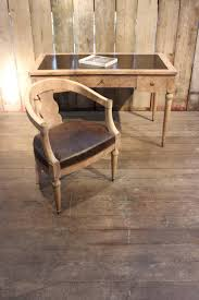 1940s French Limed Oak And Rosewood Desk Chair Furniture 1940s