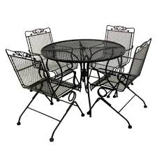 black wrought iron patio furniture. amazing of black wrought iron patio furniture with dining room vintage outdoor sets garden
