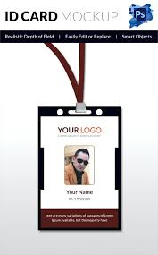 id card templates free doents ideny template sle design id card template