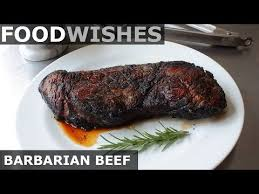 Find the top 100 most popular items in amazon grocery & gourmet food best sellers. Barbarian Beef Our Oldest Recipe Yet A Food Drink Post From The Blog Food Wishes Video Recipes On Bloglovin Food Wishes Food Cooking