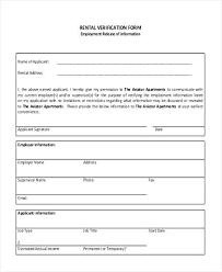 Rental Employment Verification Form Driver Truck Past – Onbo Tenan