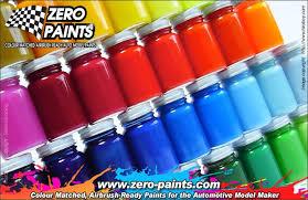 Custom Paint Mixing Service 60ml Zp 1000 Zero Paints