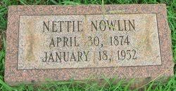 Nettie Dillon Nowlin (1874-1952) - Find A Grave Memorial