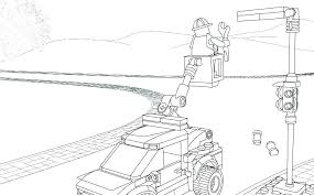 Police Car Coloring Pages Pdf To Print Halftraininginfo