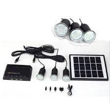 MicroSolar U2013 Lithium Battery U2013 5W Panel Solar Home System Kit Solar Led Lights For Homes
