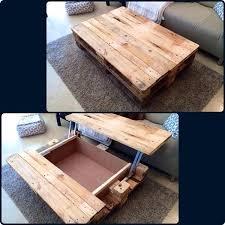 storage coffee table ideas 15 unique reclaimed pallet table ideas diy storage coffee under coffee table