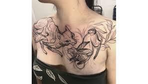 Tatuaggi Dove Fanno Male Petto Dilei