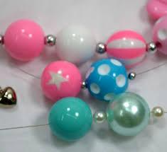 Bubblegum Bead Size Comparison Chart
