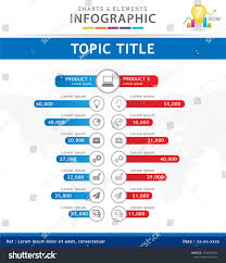 Comparison Chart Infographic Infographic Template For Business 7 Steps Modern Comparison