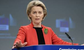 She is the first woman to serve in the role, which is responsible. Ursula Von Der Leyen Insists Eu Members Backed Grab For Bloc S Fair Share Of Vaccines Politics News Express Co Uk