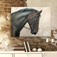 canvas horse canvas wall art marvelous horse canvas wall art modern oil painting large running decoration