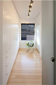 narrow closet lighting