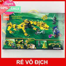 Mua Sale 11.11 Lego Ninjago Rồng Vàng Siêu Hạng. Chiến Binh Rồng Vàng. Đồ  chơi xếp hình cho bé trai hàng đẹp chỉ 868.000₫