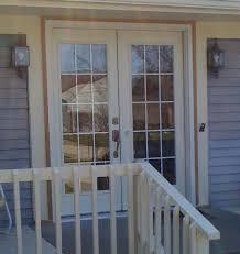 how to paint metal trim on sliding glass door in swing steel french patio door system