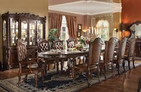 home decor traditional dining room sets vendome formal dining room table set vukyayh