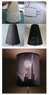 lighting for girls room. cool diy lamps for teen girl bedrooms city lights lampshade by ready at http lighting girls room