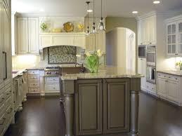 green kitchen units thegreenstation dark oak home design painting furniture cream cupboards varnished wood cabinets paint