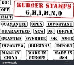 Royalty Free Stock Illustration Of Collection Rubber Stamps Words
