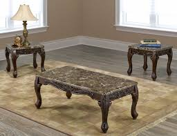 if pc marble coffee table set end tables and furniture village zoom if w