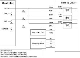 stepper motor driver dm542 Dm542a Wiring Diagram Dm542a Wiring Diagram #4 Basic Electrical Schematic Diagrams