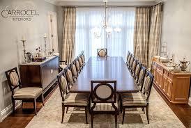 custom art deco mahogany dining table