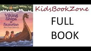 magic tree house book part 15 viking ships at sunrise read by bharathi kidsbookzone