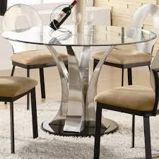 round glass kitchen table. Top 71 Beautiful Large Glass Dining Table Round And 4 Chairs White 6 Kitchen