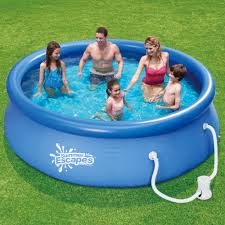 Pools Coleman Power Steel 18 X 48 Frame Pool Set With Filter Pump