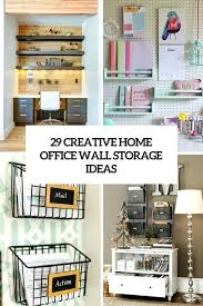 office storage solution. 29 creative home office wall storage ideas mounted modular solution