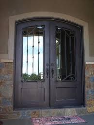 iron entry doo double front doors