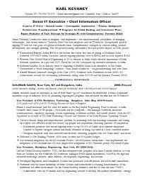 Resume Samples Financial It Fintech