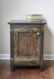 picture perfect furniture. this easy diy cabinet side table is the perfect project to add a rustic touch picture furniture