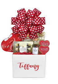 white valentines day gift basket houston texas delivery array of gifts