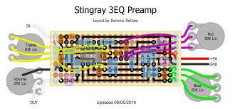 diy stingray 3eq preamp talkbass com