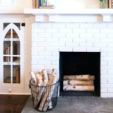 fireplace basket birch logs decorative for bq