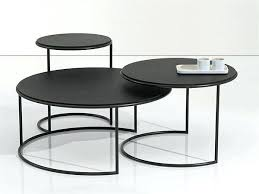 unique round coffee tables metal coffee table design by design lab unusual coffee tables