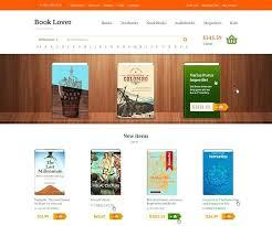 Free Bookstore Website Template Free Website Templates For Your Bookstore Template Css Gocreator Co