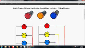 how to wire light indicators for single phase and 3 phase in Wiring Diagram Single Phase To Phase 3 how to wire light indicators for single phase and 3 phase in (hindi) single phase to 3 phase wiring diagram