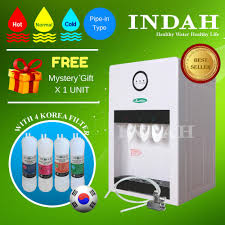 yamada alkaline water dispenser hot normal warm cold with 4 patented korea filter