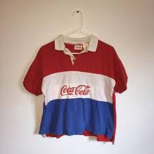 80s polo shirts on wanelo coca cola polo shirts