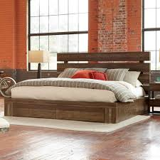 king storage bed. Epicenters Williamsburg Wood Storage Bed In Reclaimed Pallet King B