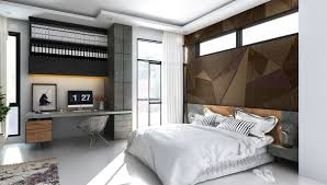 Modern Industrial Bedroom Industrial Bedroom Wall Texture Interior Design Ideas