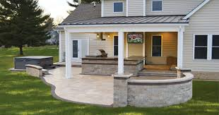 outdoor patios and kitchens. covered outdoor kitchen with tv and stone patio patios kitchens