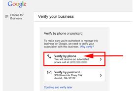 Google Phone Listing Setup Google Places Phone Verification By Rexaniel