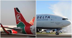 cash strapped kenya airways pens news deal with delta airways as it struggles to remain