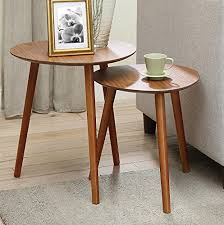 nesting end tables. Convenience Concepts Oslo Nesting End Tables, Cherry Tables