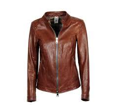 city handmade leather jacket basic style