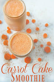 Carrot Cake Smoothie The Pistachio Project